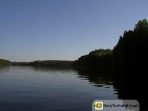 Zalew Koronowski - jeden z największych akwenów w Borach Tucholskich