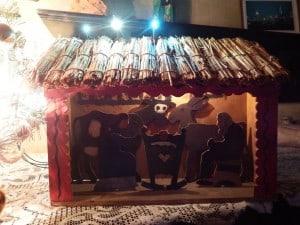 godne święta szopka w borach tucholskich