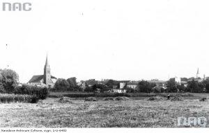 Panorama Tucholi - okres międzywojenny