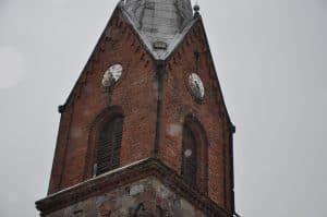 Wieża lubiewskiego koscioła, źródło: restaurostyl.pl